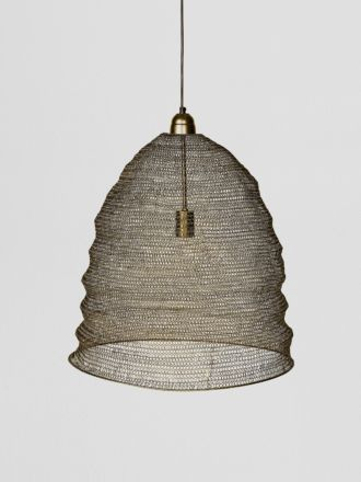 Cone Lamp Large - Gold
