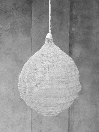 Teardrop Lamp - White