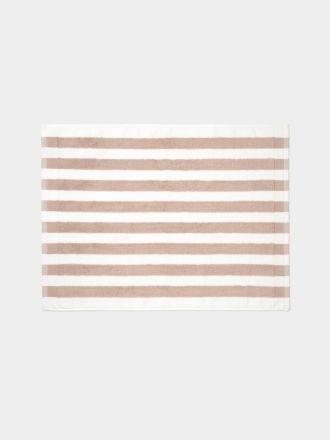 Stripe Bath Mat - Blush