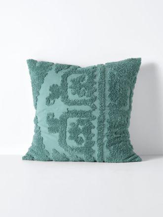 Suzani European Pillowcase - Jade