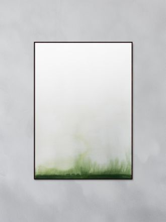 Pure Green Art Print by Trine Holbaek