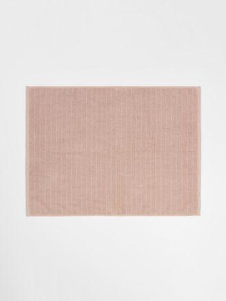 Vintage Stripe Bath Mat - Pink Clay