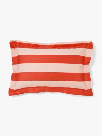 Wide Stripe Standard Pillowcase