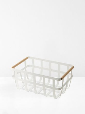 Tosca Double Handle Storage Basket by Yamazaki