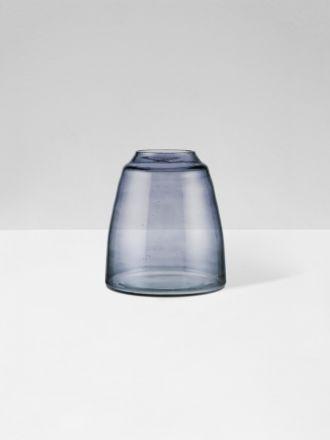Smoke Tapered Vase by Zakkia