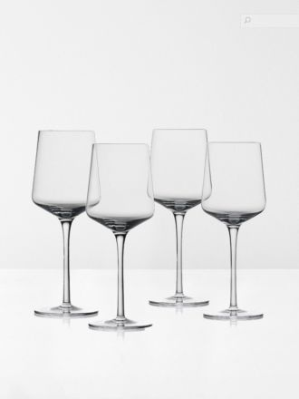 Rocks Red Wine Crystal Glasses Set of 4 by Zone Denmark