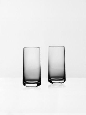 Rocks Highball Crystal Glasses Set of 2 by Zone Denmark