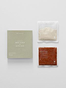 Australian Native Body Scrub & Bath Soak Set by Addition Studio