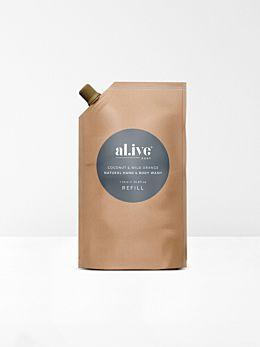 Coconut & Wild Orange Hand & Body Wash Refill by Al.ive