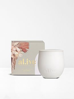 Sweet Dewberry & Clove Soy Candle by Al.ive