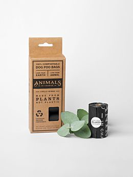 Compostable Plant Based Dog Poo Bags by Animals In Charge