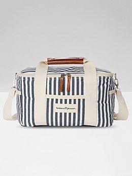 Premium Cooler - Navy Stripe