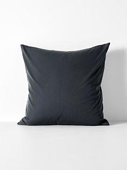 Halo Organic Cotton European Pillowcase - Steel