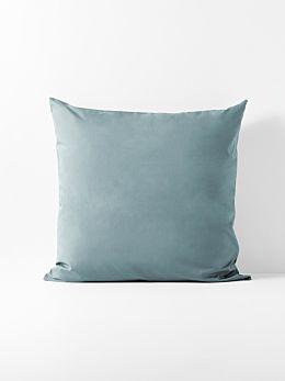 Halo Organic Cotton European Pillowcase - Eucalypt