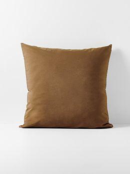 Halo Organic Cotton European Pillowcase - Tobacco