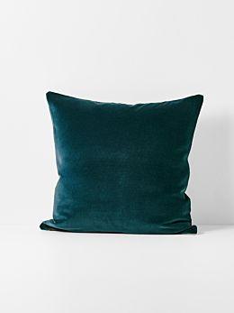 Luxury Velvet Cushion - Indian Teal