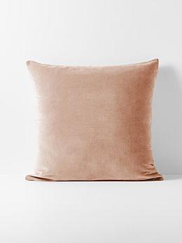 Luxury Velvet European Pillowcase - Rosewater