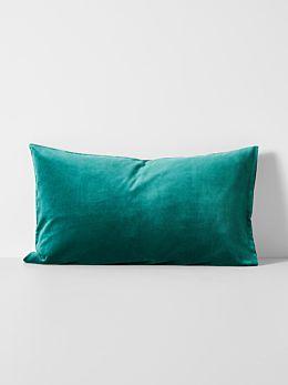 Luxury Velvet Standard Pillowcase - Forest Night