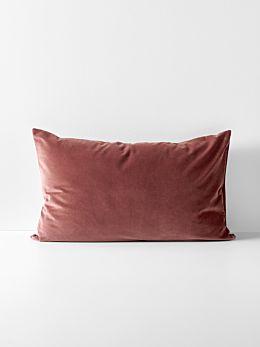 Luxury Velvet Standard Pillowcase - Mahogany