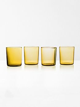 Glasses Set of 4 by Maison Balzac - Miel