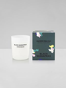 Black Sassafras Scented Candle by Maison Balzac