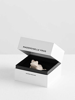 Mademoiselle Frog Incense Holder by Maison Balzac
