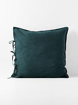 Maison Vintage European Pillowcase - Indian Teal