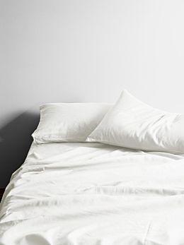 Maison Vintage Sheet Set - White