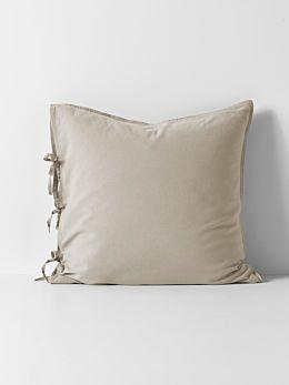 Maison Vintage European Pillowcase - Natural