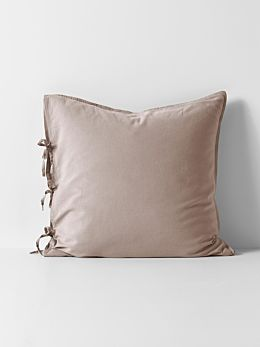 Maison Vintage European Pillowcase - Nude