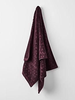 Maya Bath Towel - Fig