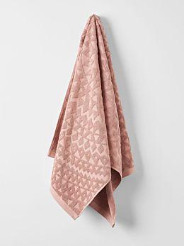 Maya Bath Sheet - Clay