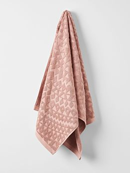 Maya Bath Towel - Clay