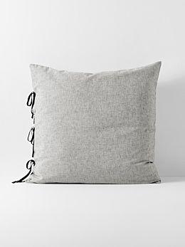 Oxford European Pillowcase - Black
