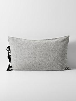Oxford Standard Pillowcase - Black