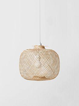 Laki Bamboo Pendant Shade Only - Natural