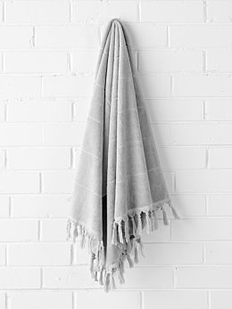 Paros Bath Sheet - Dove