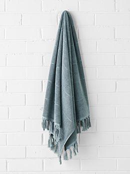 Paros Bath Towel - Eucalypt