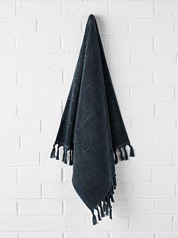Paros Bath Towel - Slate