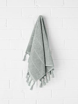 Paros Hand Towel - Limestone