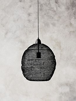 Ball Lamp - Black