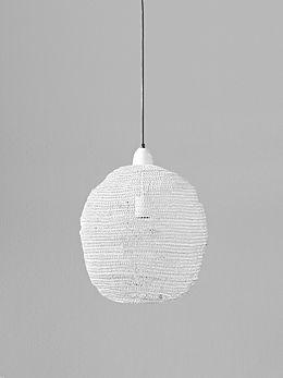 Ball Lamp - White