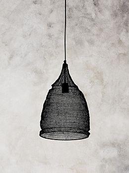 Cone Lamp - Black