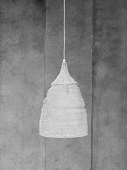 Cone Lamp - White