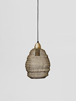 Ball Lamp Mini - Matt Gold
