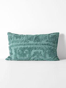 Suzani Standard Pillowcase - Jade