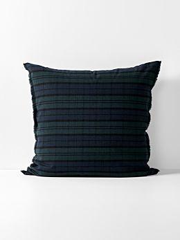 Tartan European Pillowcase