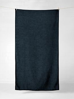Vintage Linen Tablecloth - Slate