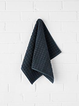 Waffle Hand Towel - Slate