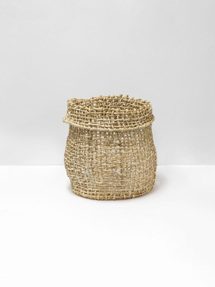 e135bb285c0 Papaya Cicely Tall Woven Basket Medium | Aura Home